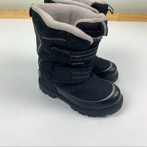 Pediped Black Cold Weather Winter Boots size 9